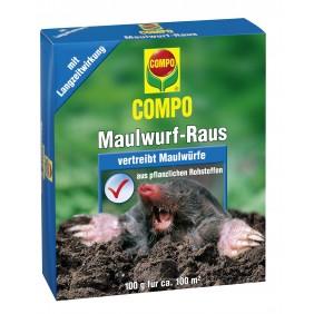 COMPO Maulwurf-Raus 2 x 50 g Portionsbeutel
