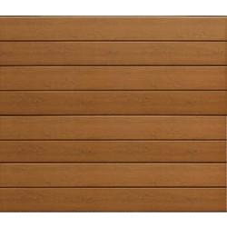 Hörmann Garagentor Sektionaltor LPU RenoMatic light DecoColor Golden Oak