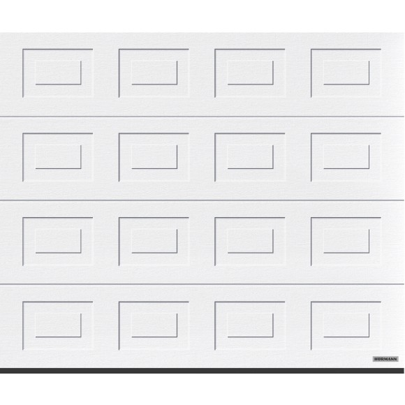 h rmann garagentor sektionaltor lpu40 s kassette woodgrain verkehrswei mein. Black Bedroom Furniture Sets. Home Design Ideas