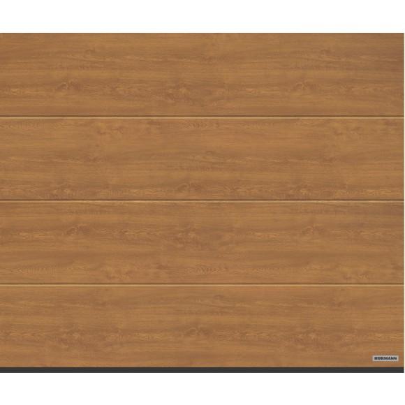 Hörmann Garagentor Sektionaltor LPU40 L-Sicke Decograin Holzdekor Golden Oak