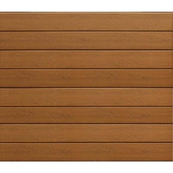 Hörmann Sektionaltor LPU RenoMatic light Woodgrain DecoColor Golden Oak
