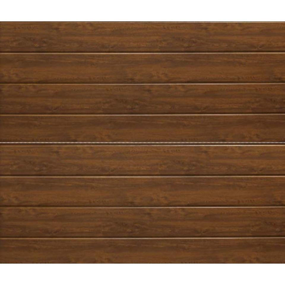 h rmann garagentor sektionaltor lpu renomatic light woodgrain decocolor dark oak mein. Black Bedroom Furniture Sets. Home Design Ideas