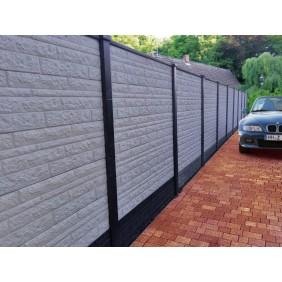 Beton - Sichtschutz - Zaun