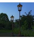 Boltze Laterne LED VIVIAN aus Metall Höhe 160 cm