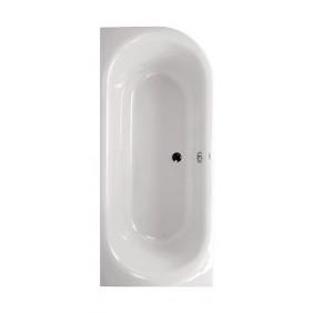 AquaSu Acryl-Duobadewanne Ovo II 180 x 80 cm rechte Ausführung