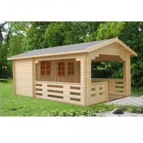 Palmako Gartenhaus Sylvi 6,1 + 10,6 m² - 44 mm