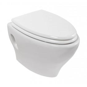Sanitop AquaSu Wand-WC-Set laseO, weiß