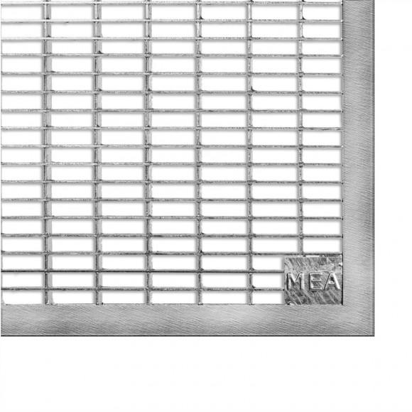Mea Lichtschacht Gitterrost Befahrbar B 100 Cm Versch Tiefen