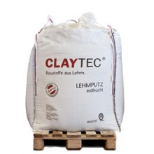 Lehmputz Mineral 20, erdfeucht Big-Bag