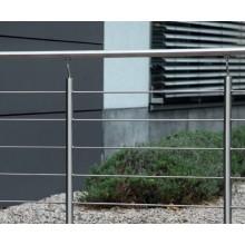 Geländer-Komplettset V2A waagerechte Stäbe
