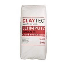 Lehmputz Mineral 16, trocken Sackware 30 kg