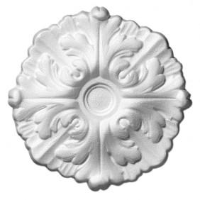 Saarpor Rosette Daphne, weiß, Ø 22 cm