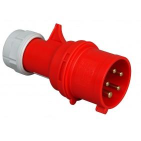 Kopp CEE-Stecker 5-polig, rot