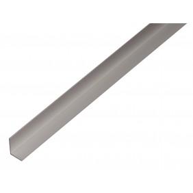 GAH Winkelprofil 9,5 x 7,5 x 1,5 mm. Alu silber eloxiert