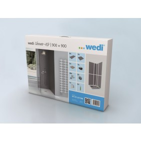 WEDI Fundo Primo Shower Kit, versch. Größen