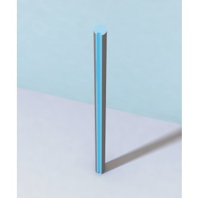 WEDI Moltoromo Abschlussprofil mittig, 2600 x 100 x 93,3 mm