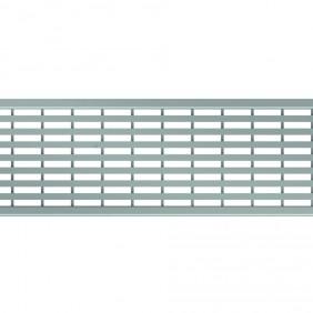 ACO Self® Längsstegrost Edelstahl für Profiline Holzterrassenrinne