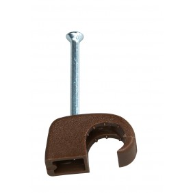 Kopp Iso- Schellen 7 - 11 mm braun