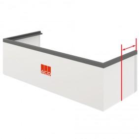 ACO Lichtschacht-Aufstockelement mit verlängerten Schenkeln - variable Höhe (3-30 cm)