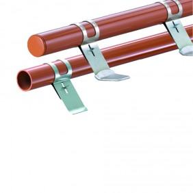 HEUEL Schneefangsystem Pipe Alu-Rohr