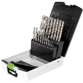 Festool Bohrerbox HSS Stahlbohrer HSS D 1-10 Sort/19