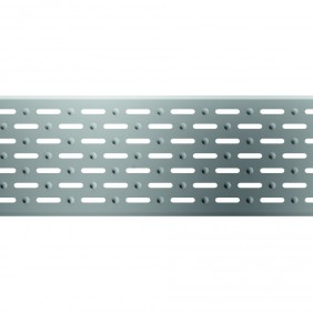 ACO Self® Längsschlitzrost Edelstahl für Profiline Holzterrassenrinne