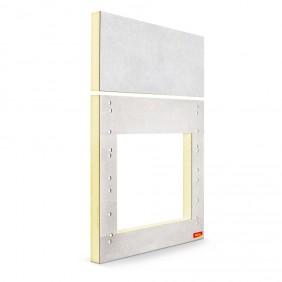 MEA Wärmebrückenfreie Befestigung inkl. Montagedämmplatte (10cm Dämmung)