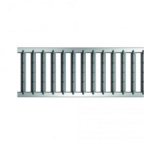 ACO Self® Stegrost Stahl verzinkt - Detail