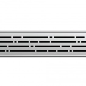 ACO ShowerDrain E-line Design Rost Mix