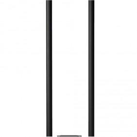 ALLUX Rohr-Ständer 1005 für Briefkasten - Schwarz