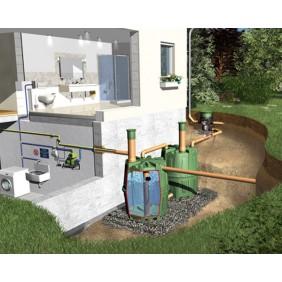 Graf Garantia Regenwassertank Erdtank Herkules Komplettpaket Haus