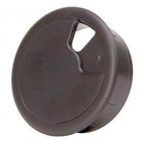 Kopp Kabeldurchgangsdose Ø 60 mm schwarz