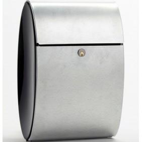 ALLUX Ellipse Design Briefkasten - verzinkter Stahl