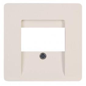 Kopp Abdeckung für TAE-Telefon-Anschlussdose PARIS creme-weiß