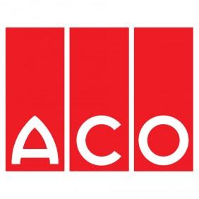 ACO Haus- und Hofablauf - schwarz