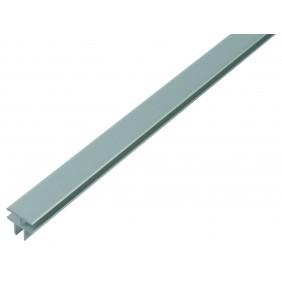 GAH T-Profil selbstklemmend, Alu, 24,9x24,0mm, Länge 1m