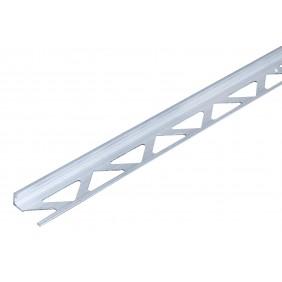 GAH Fliesen-Abschlussprofil, Aluminium, Breite 23,5mm, Länge 1m