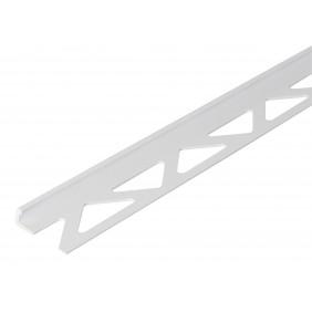 GAH Fliesen-Abschlussprofil, Kunststoff, weiß, Breite 23,5mm, Länge 1m