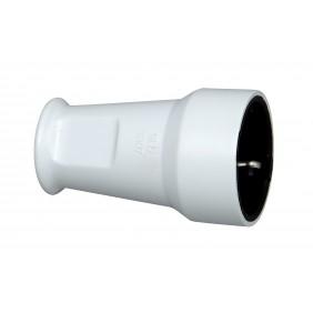 Kopp Kunststoff-Schutzkontakt-Schalenkupplung, arktis-weiß