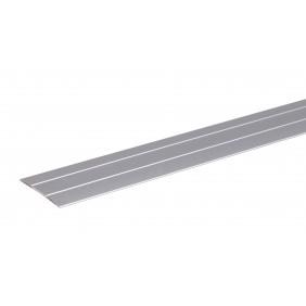 GAH Übergangsprofil mit 2 Rillen, Alu, Breite 38 mm, Länge 0,9m