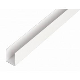 GAH U-Profil, Kunststoff, Länge 2,6m, versch. Größen