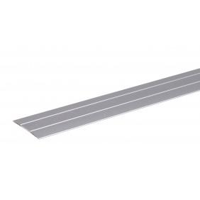 GAH Übergangsprofil selbstklebend, Alu, Breite 38mm, Länge 0,9m
