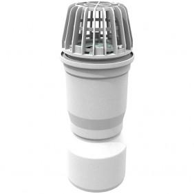 ACO Entwässerungsanschluss für Lichtschächte inkl. Laubfang und Geruchsverschluss