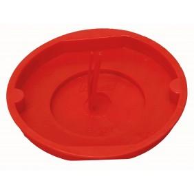 Kopp Signaldeckel für Abzweigdose Ø 70mm, rot
