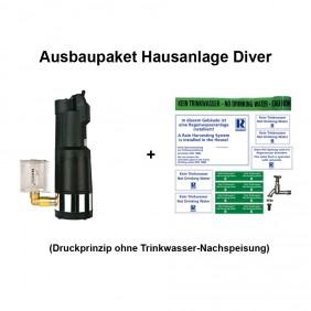 REWATEC Ausbaupaket - Hausanlage Diver