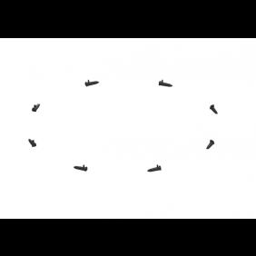 Kessel 680373 - Verbindungsbolzenset 10 St