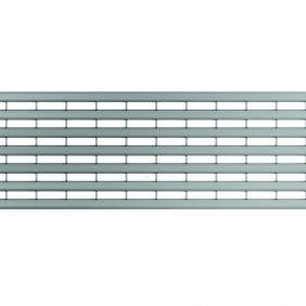 ACO Self® Längsprofilrost Edelstahl für Profiline Holzterrassenrinne