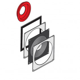 SCHWENDILATOR Schornstein W3G-LAS Zuluft-Anschluss 20 cm flüssige Brennstoffe