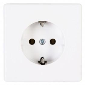 Kopp Schutzkontakt- Steckdose VISION arktis-weiß