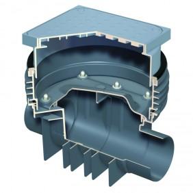 ACO Triplex-K - Reinigungsrohr mit Schachtsystem